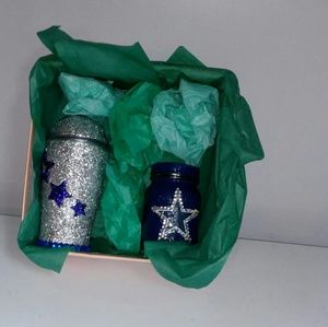 Other - Dallas Cowboys Glass and Tumbler Gift Set